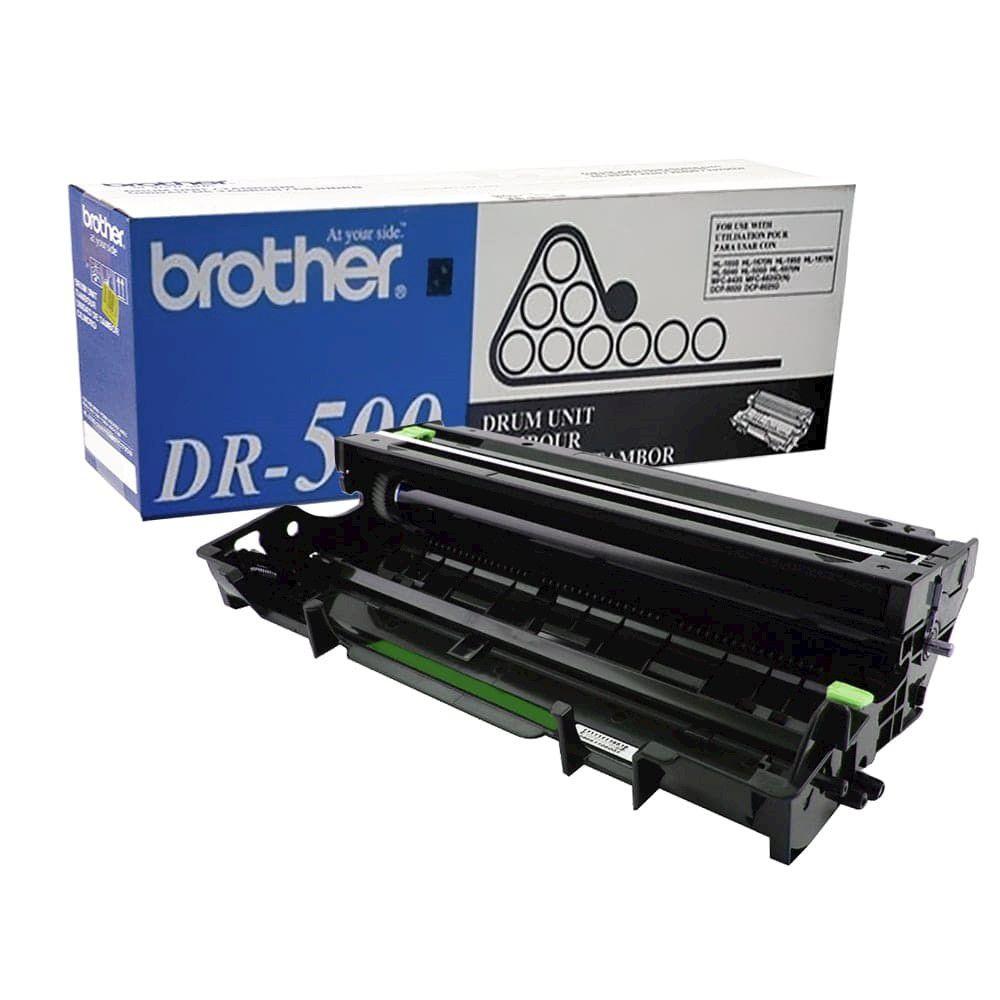 Cilindro Brother DR-500 p/ 20.000 Páginas  - Loja Gomaq