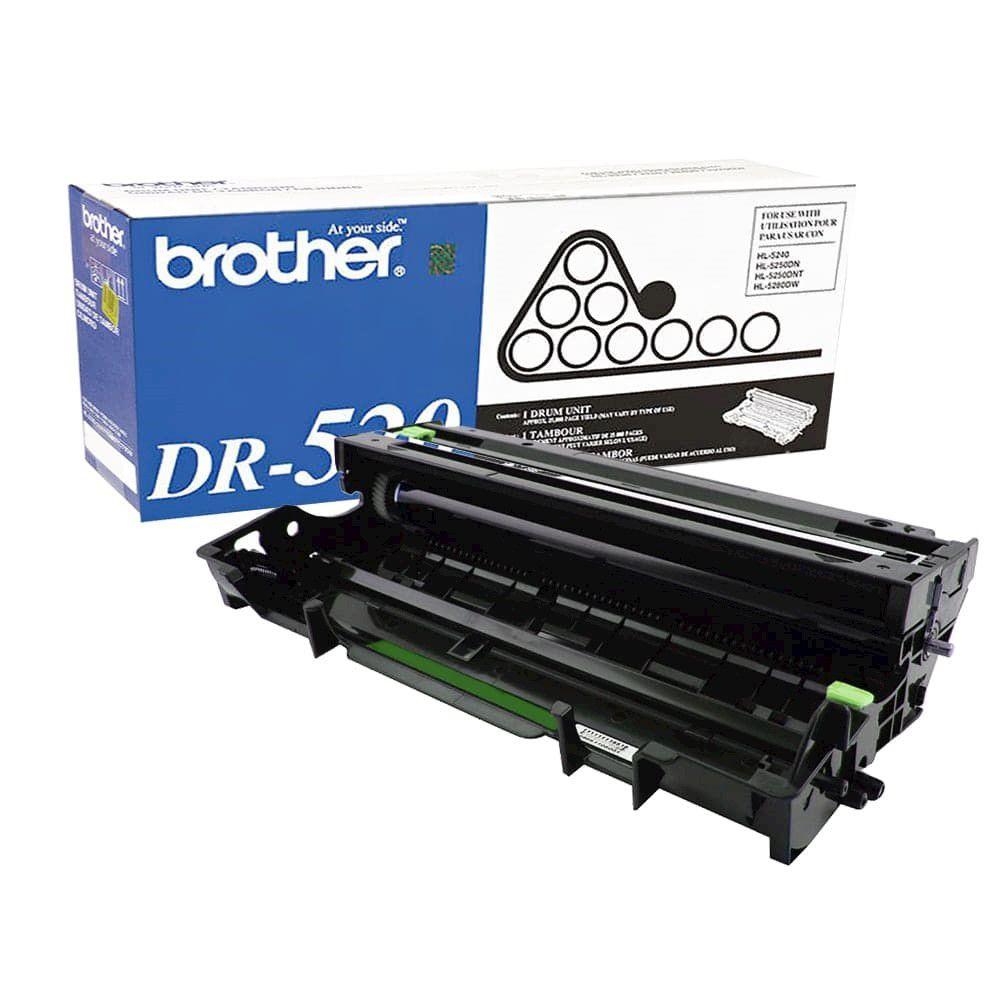 Cilindro Brother DR-520 p/ 25.000 Páginas  - Loja Gomaq