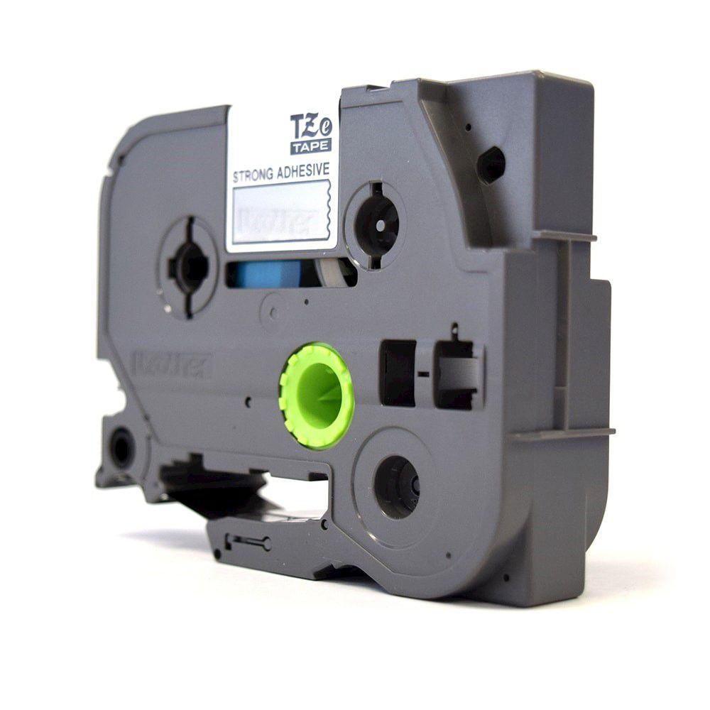 Fita Laminada p/ Rotulador Brother TZe-151 Preto Sobre Transparente 24mm  - Loja Gomaq