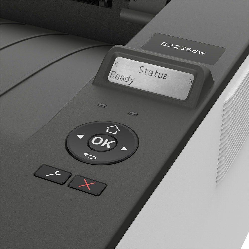 Impressora Lexmark B2236DW IMP Laser Monocromática  - Loja Gomaq