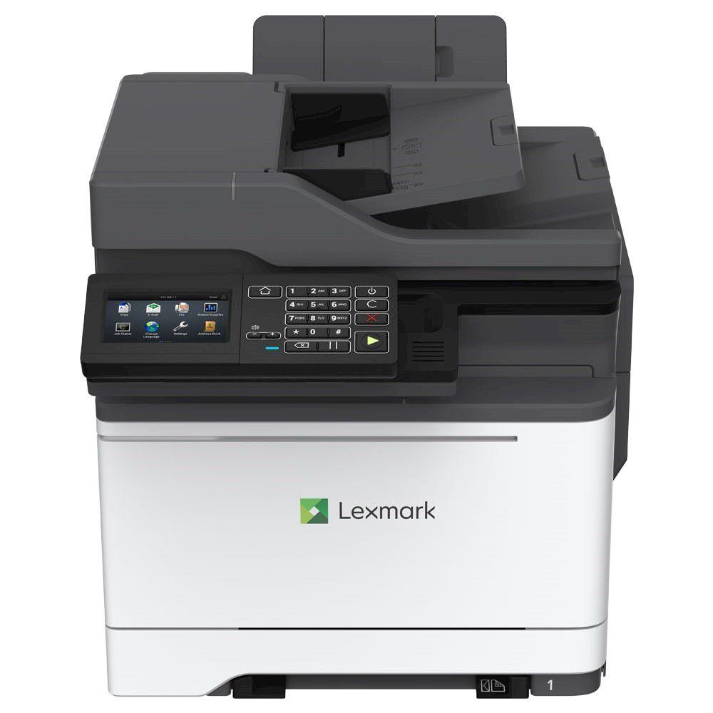 Impressora Multifuncional Lexmark CX-522ADE IMP Laser Colorida  - Loja Gomaq