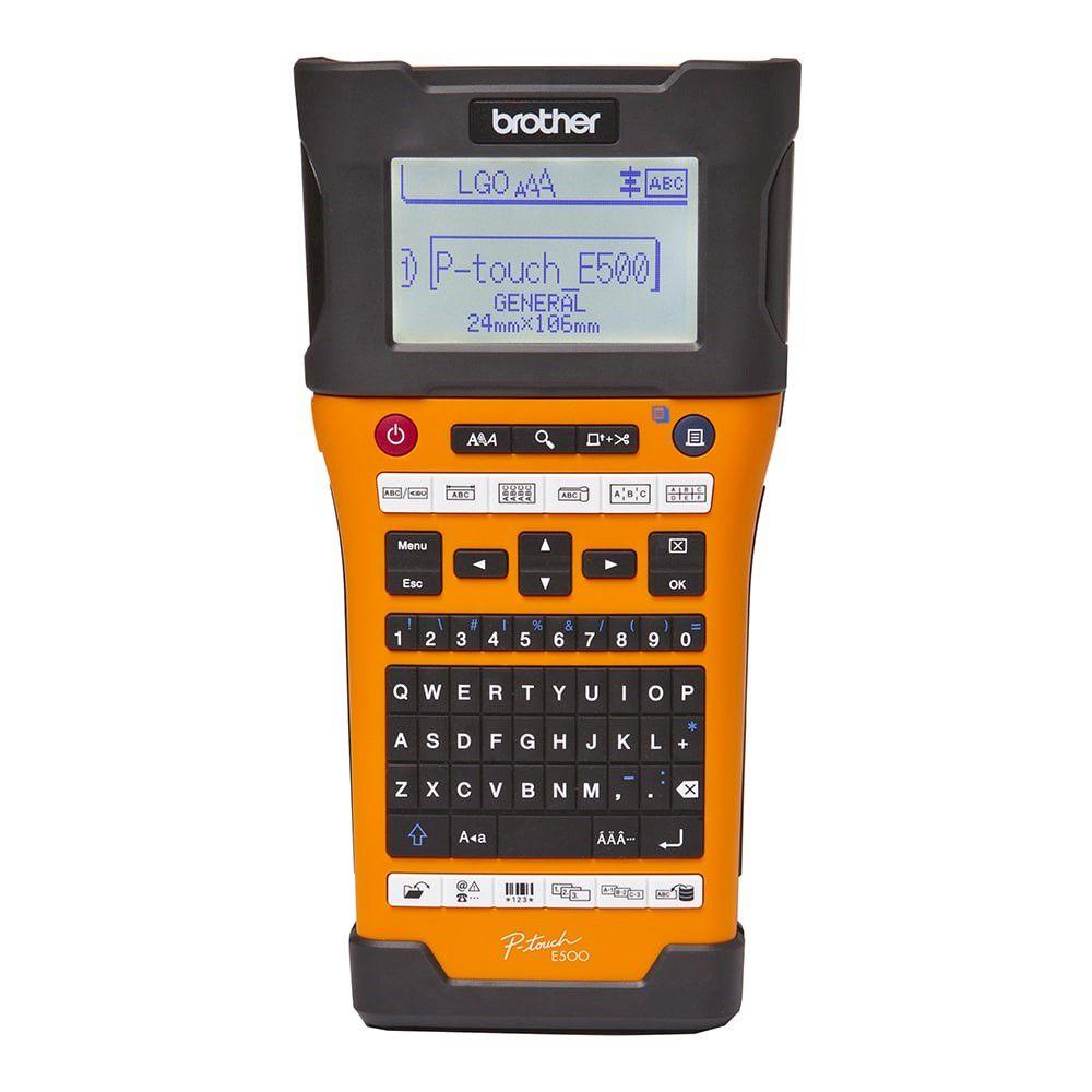 Rotulador Brother PT-E500 Profissional Portátil  - Loja Gomaq