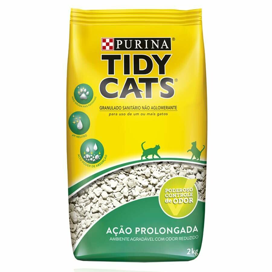 Areia Higiênica para Gatos Purina Tidy Cats 2 Kg
