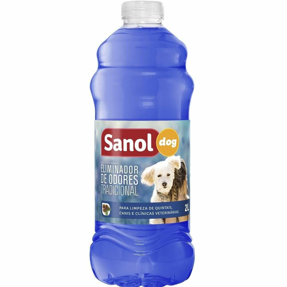 Desinfetante Elimina Odores Sanol Dog Tradicional 2l