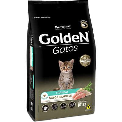 Ração Seca Golden Gatos Filhotes Frango 10kg