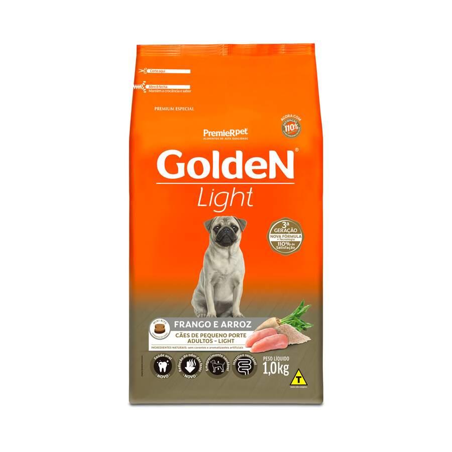 Ração Golden Light Raças Peq. Mini Frango E Arroz 10kg