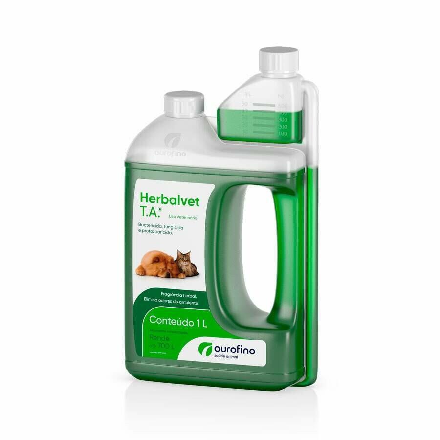 Desinfetante Bactericida Herbalvet T.A. 1l