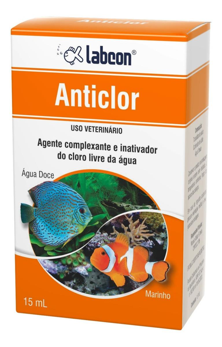 Inativador De Cloro Livre ÁGua Labcon Anticlor 15ml