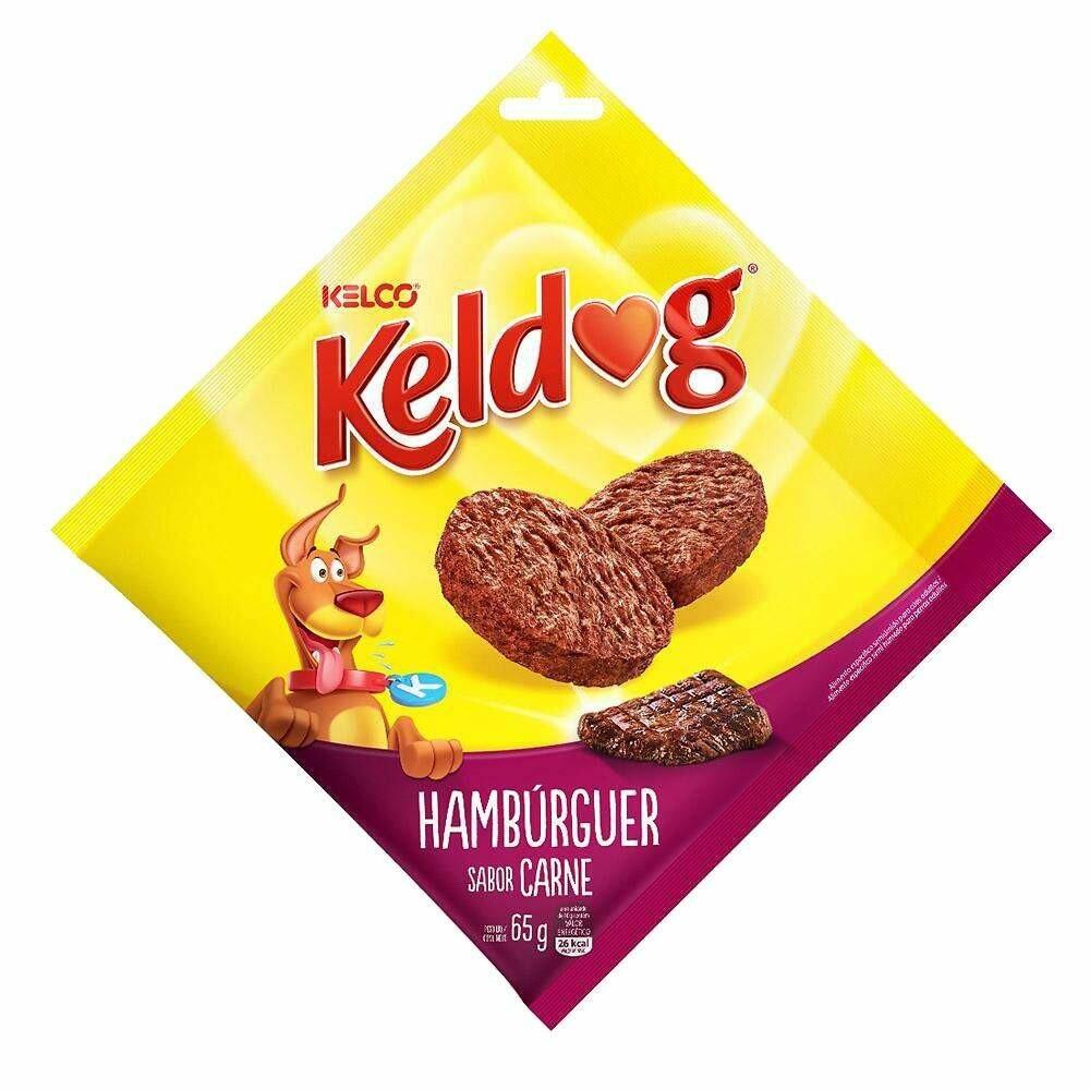 Petisco Keldog Hambuguer 65g