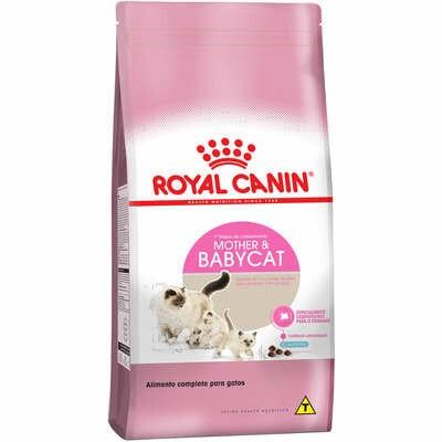 Ração Royal Canin Gatos Filhotes e Gestantes Mother Babycat 400g