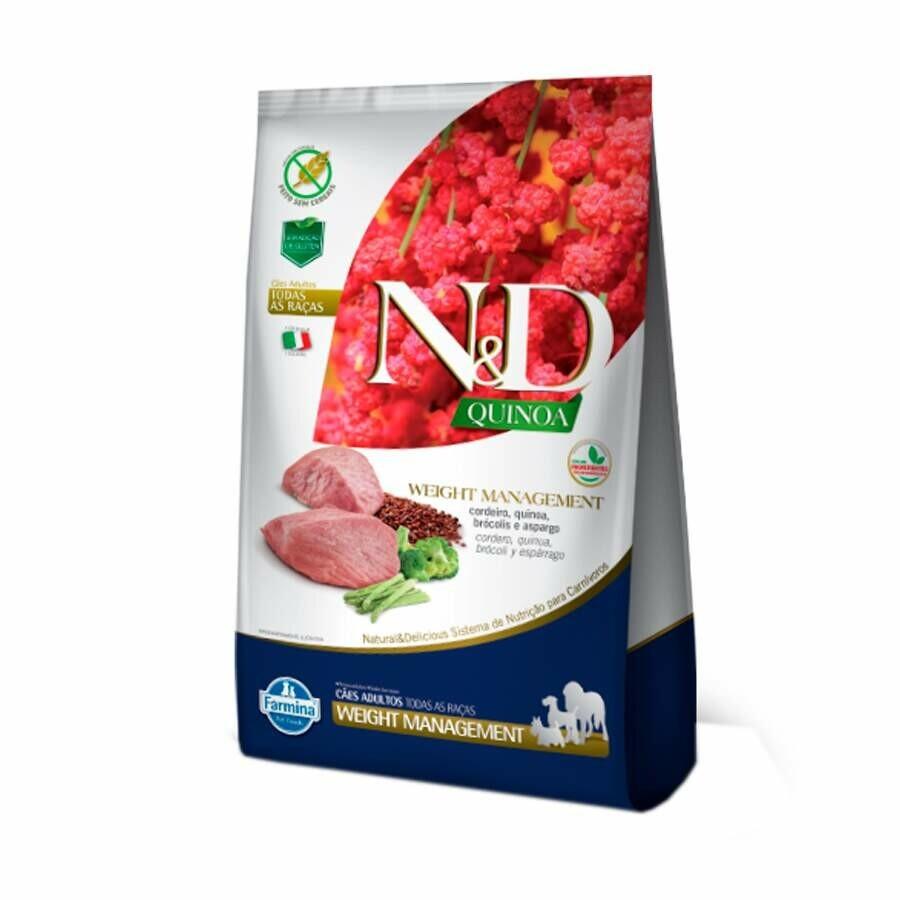 Ração Nd Quinoa Cães Adultos Weight Cordeiro 2,5kg