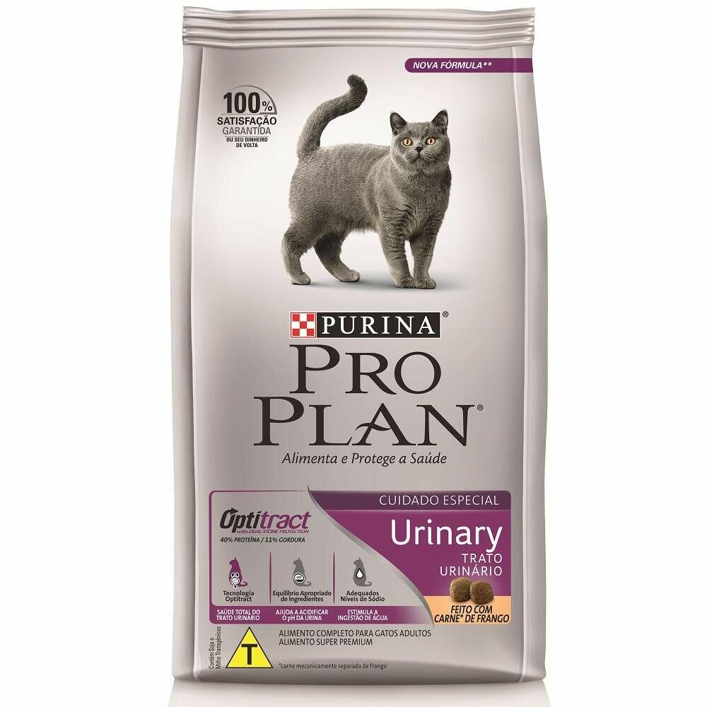 Ração Purina Pro Plan Gatos Trato Urinário 1,5kg