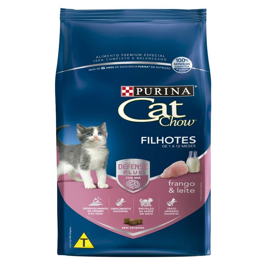 Ração Purina Cat Chow Filhotes Frango E Leite 1kg