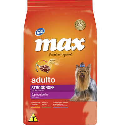 Ração Max Caes Adultos Strogonoff 20kg