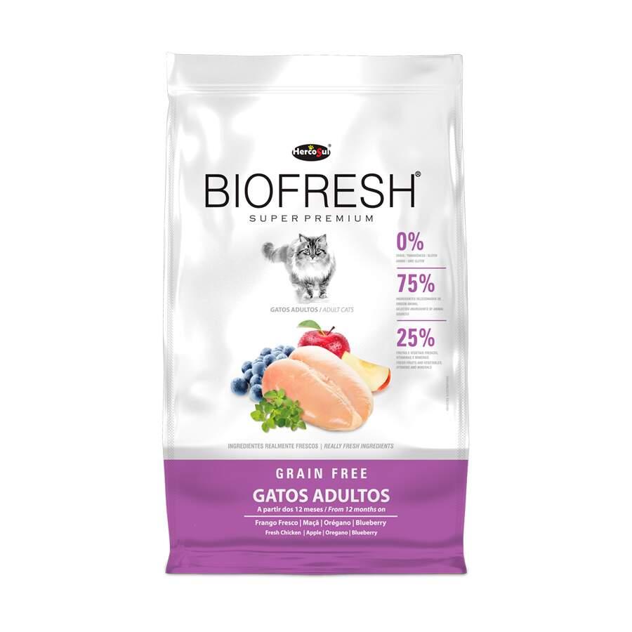 Ração Biofresh Gatos Adultos Grain Free Frango 400g
