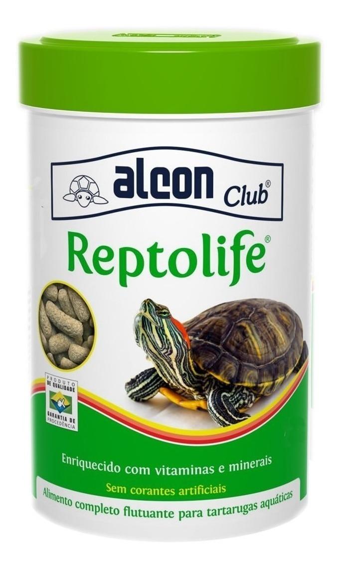 RaÇÃO Completa Tartarugas AquÁTicas Alcon Club Reptolife 30g