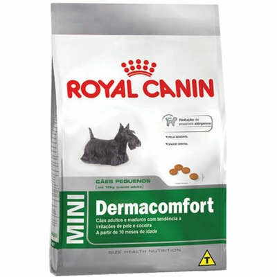 Ração Royal Canin Mini Dermacomfort Cães Pequenos 2,5kg