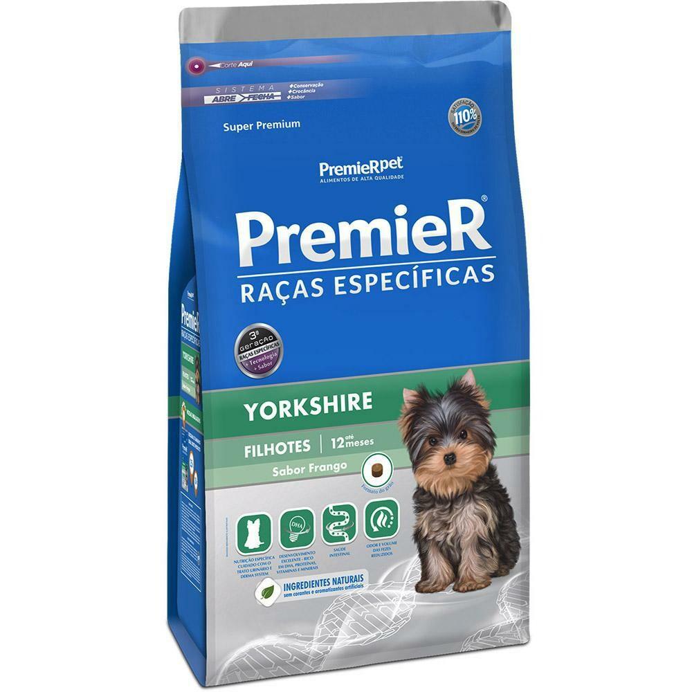 Ração Premier Pet Raças Yorkshire Filhotes 2,5kg