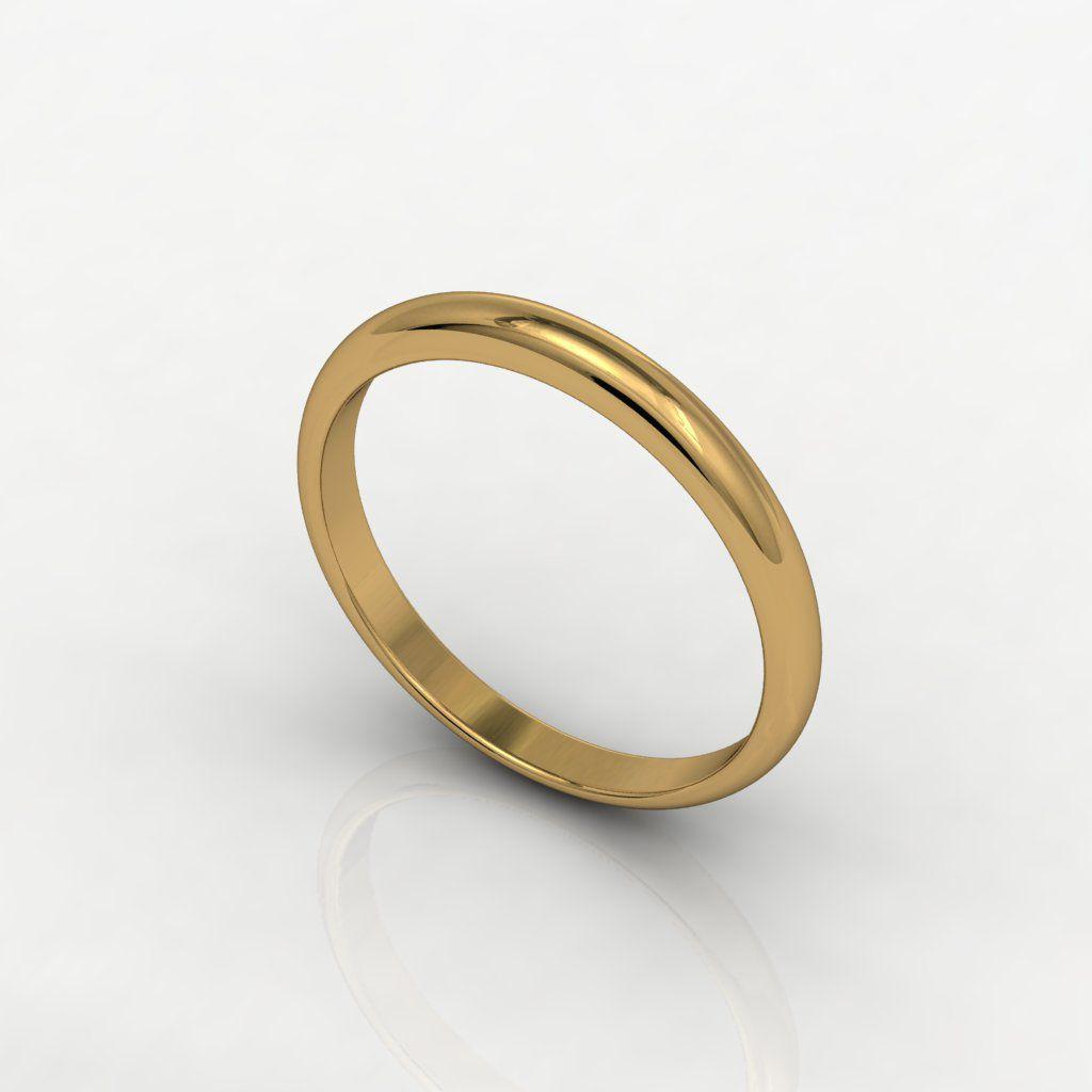 Aliança de Casamento Ouro Amarelo Solo Tu