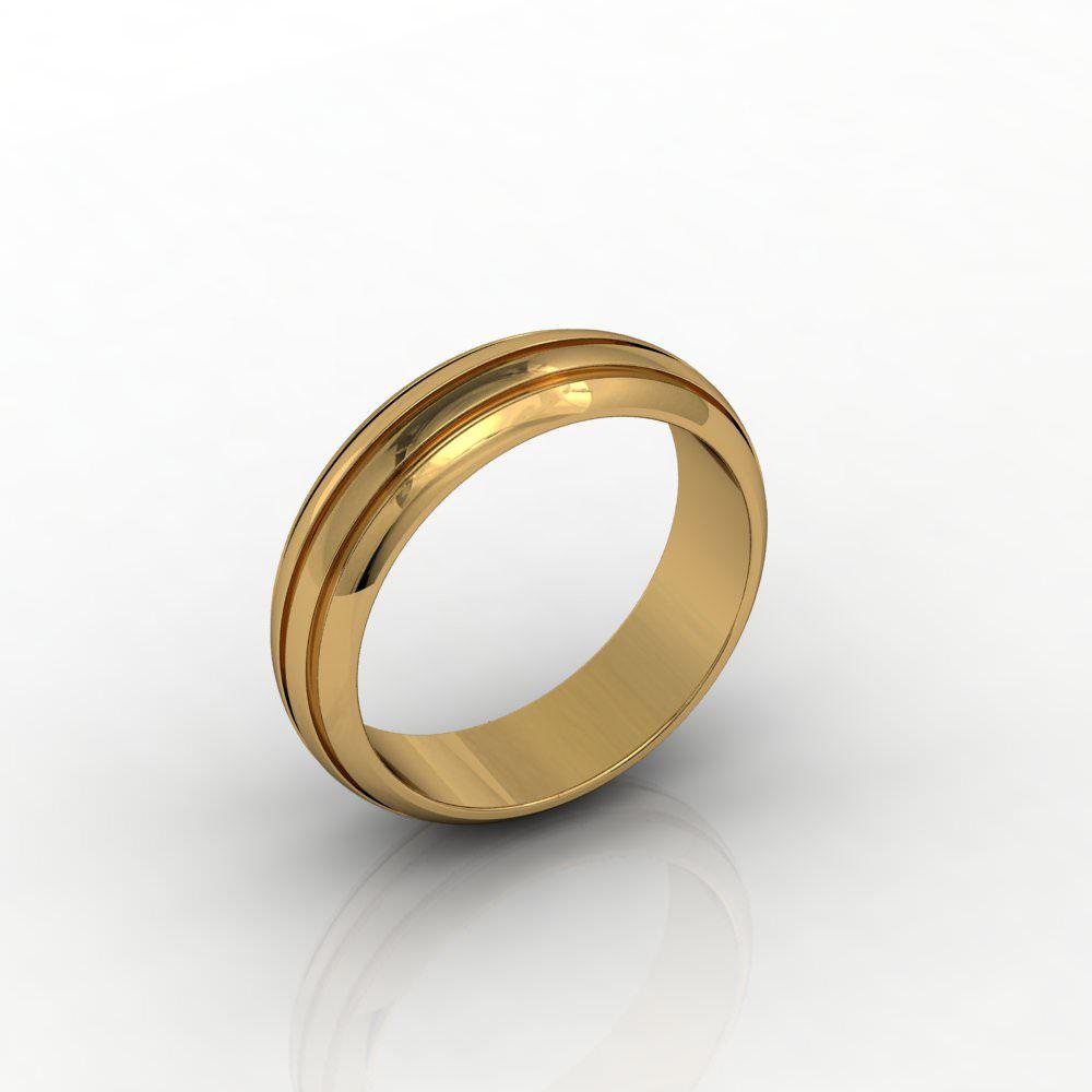 Aliança de Casamento Ouro Amarelo Di Amarti