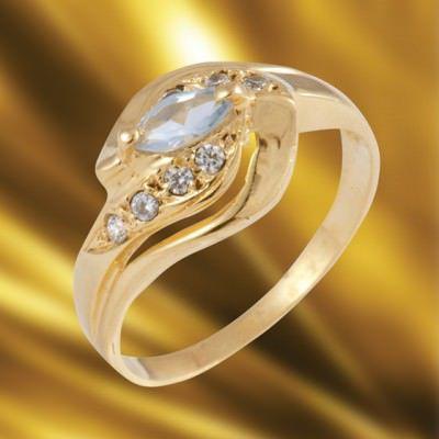Anel de Formatura em Ouro Amarelo com Brilhantes-Ouro Amarelo - ANF05