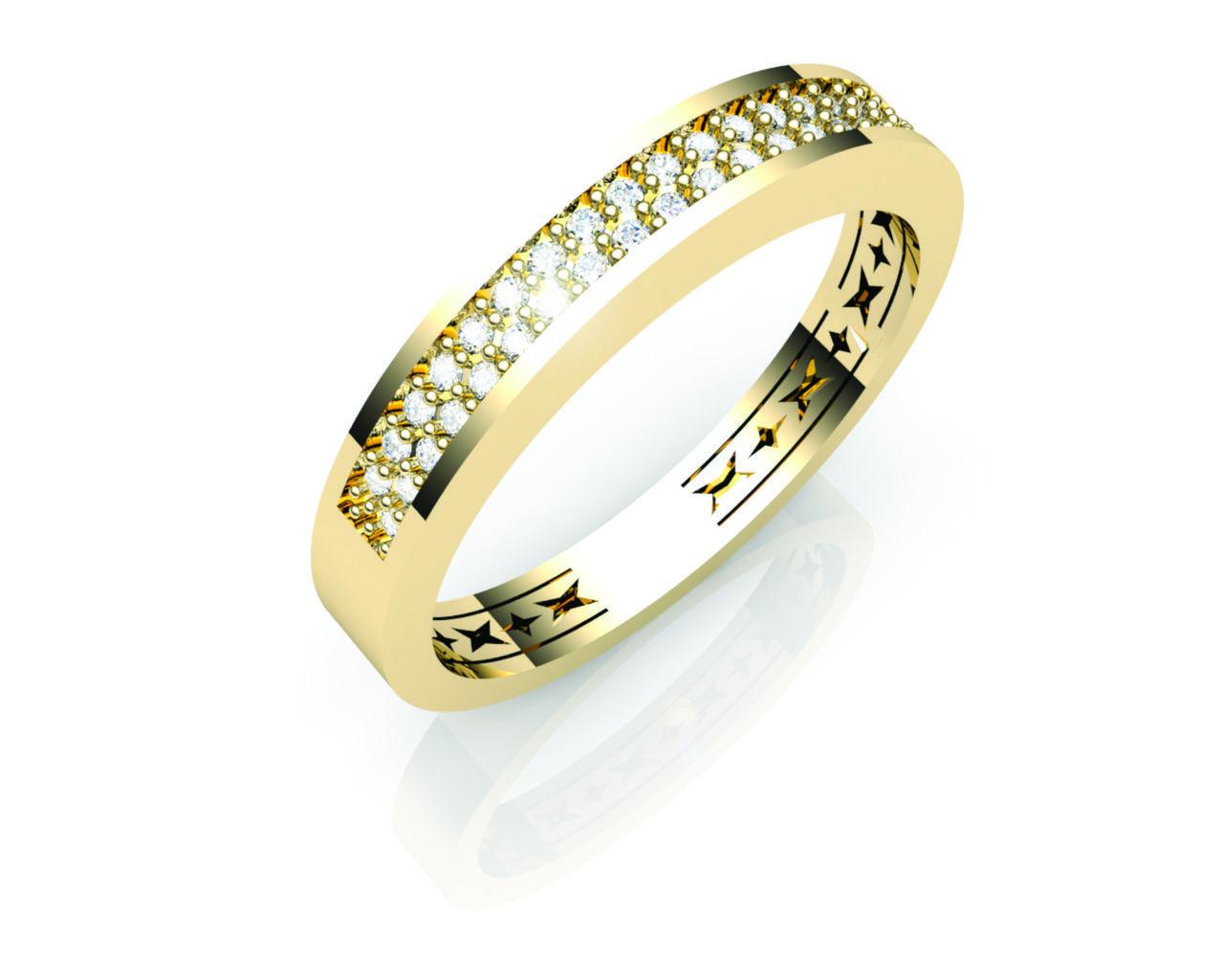 Aparador Ouro Amarelo com Brilhantes - APR192
