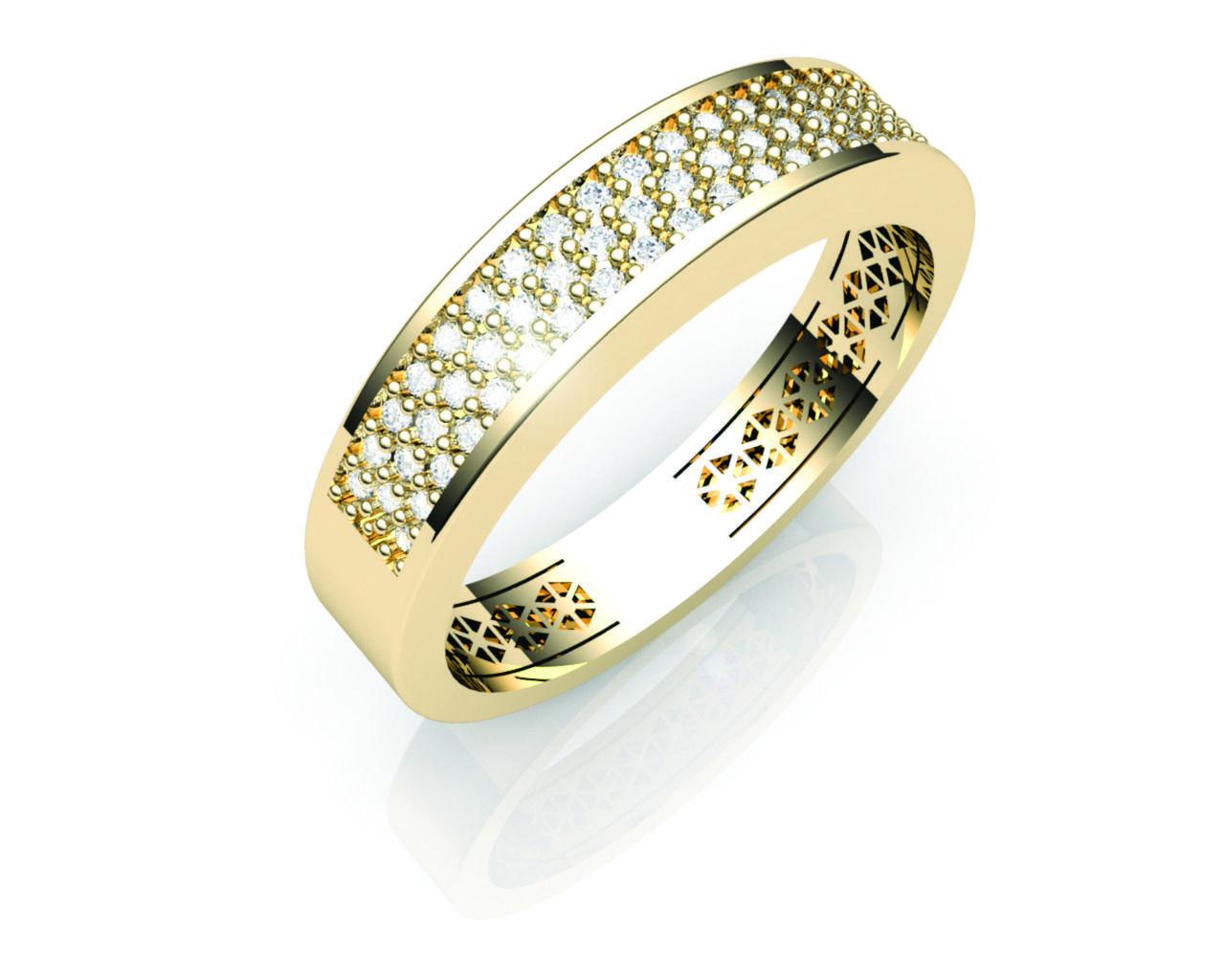 Aparador Ouro Amarelo com Brilhantes - APR116