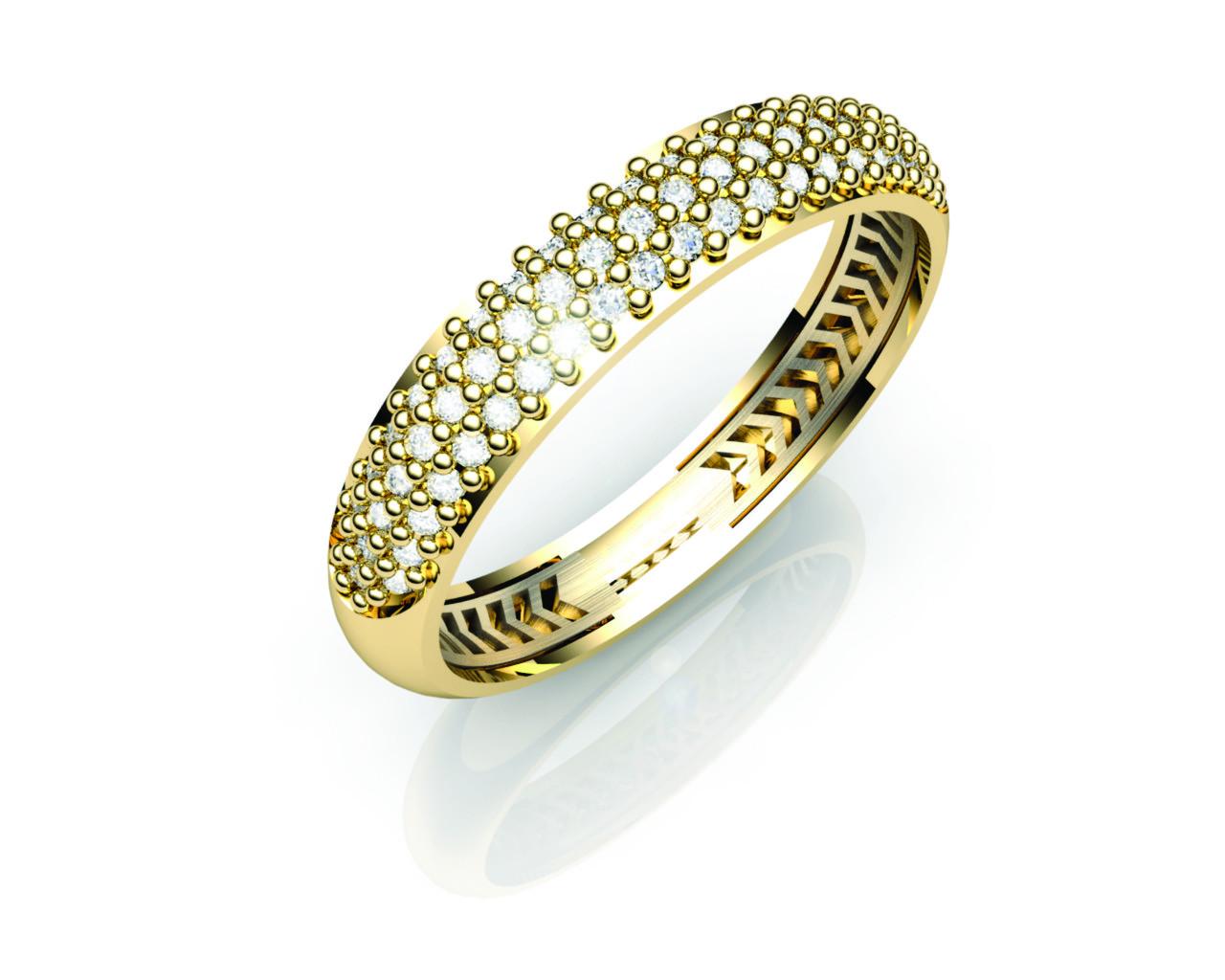 Aparador Ouro Amarelo com Brilhantes - APR425
