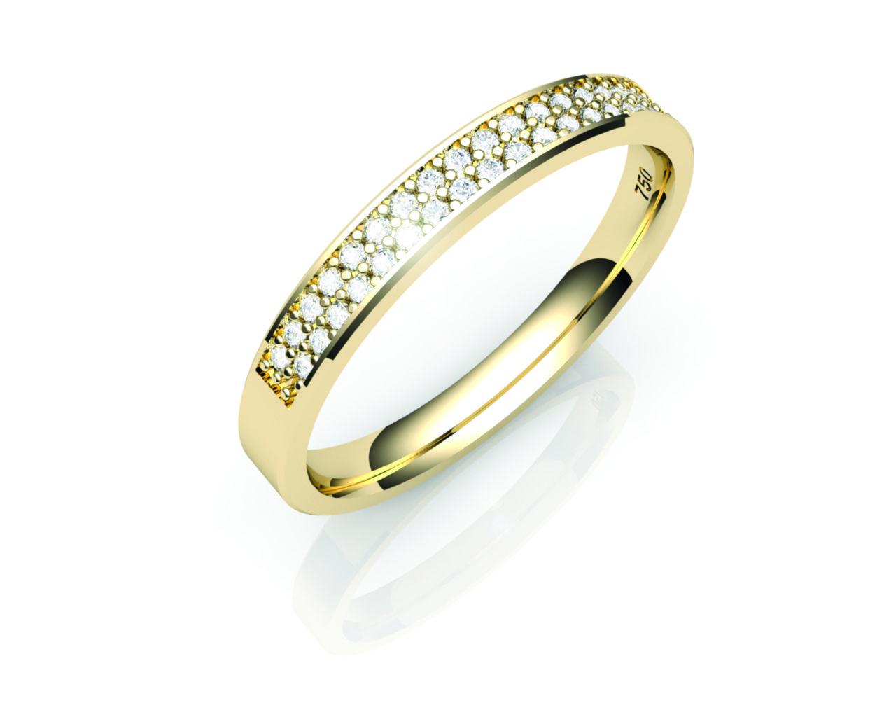 Aparador Ouro Amarelo com Brilhantes - APR517