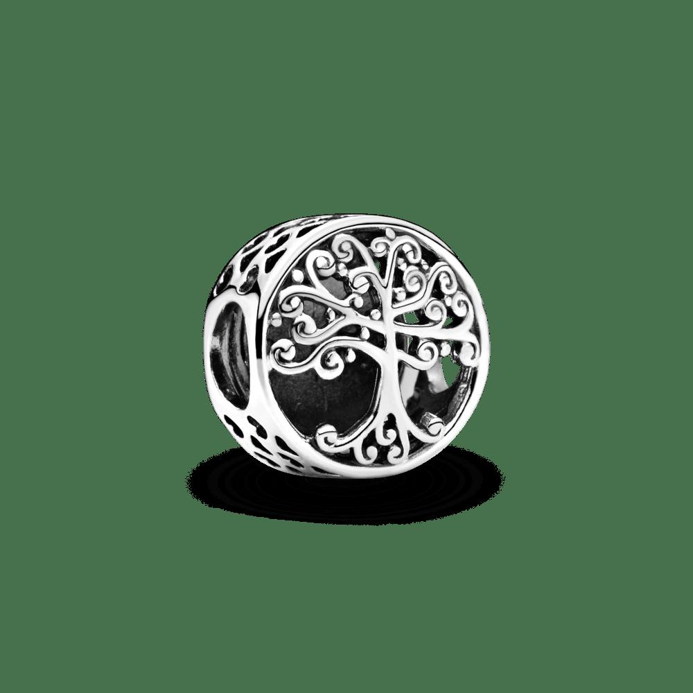 Berloque Separador Árvore da Vida em Prata 925