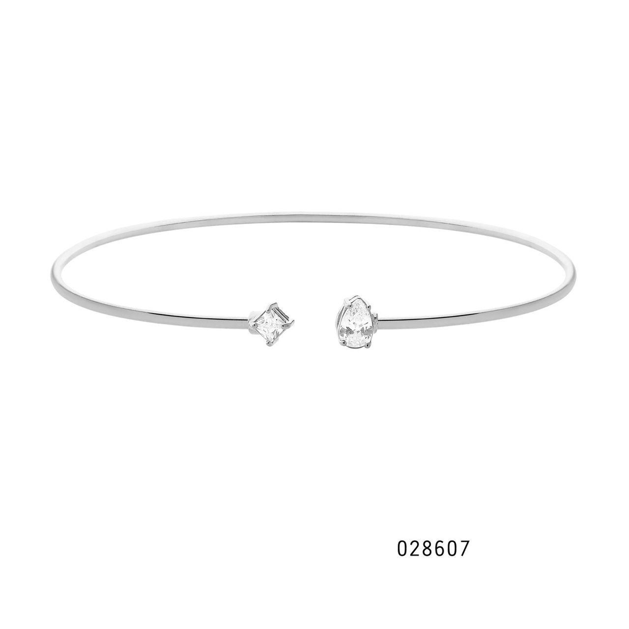 Bracelete Pedras Metamorfose em Prata
