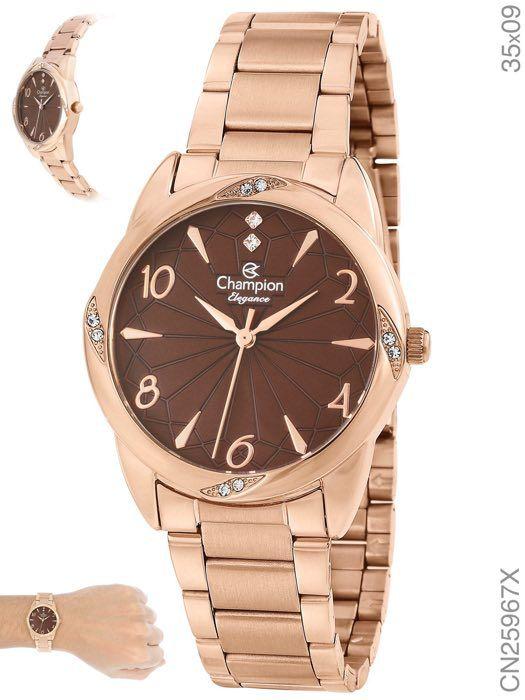 Relógio Analógico Elegance Champion - CN25967X