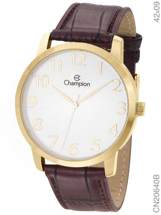 Relógio Analógico Social Champion - CN20640B