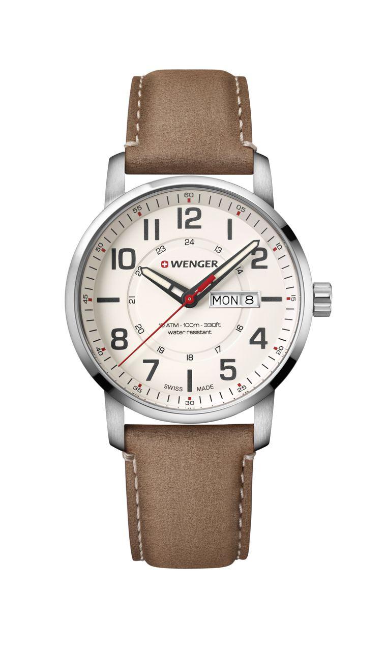 Relógio Wenger Attitude Bege - WENATI103