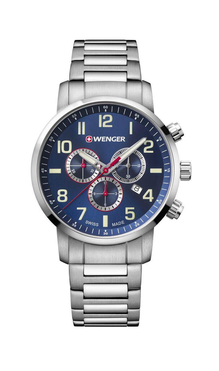 Relógio Wenger Attitude Chrono Azul - WENATI101