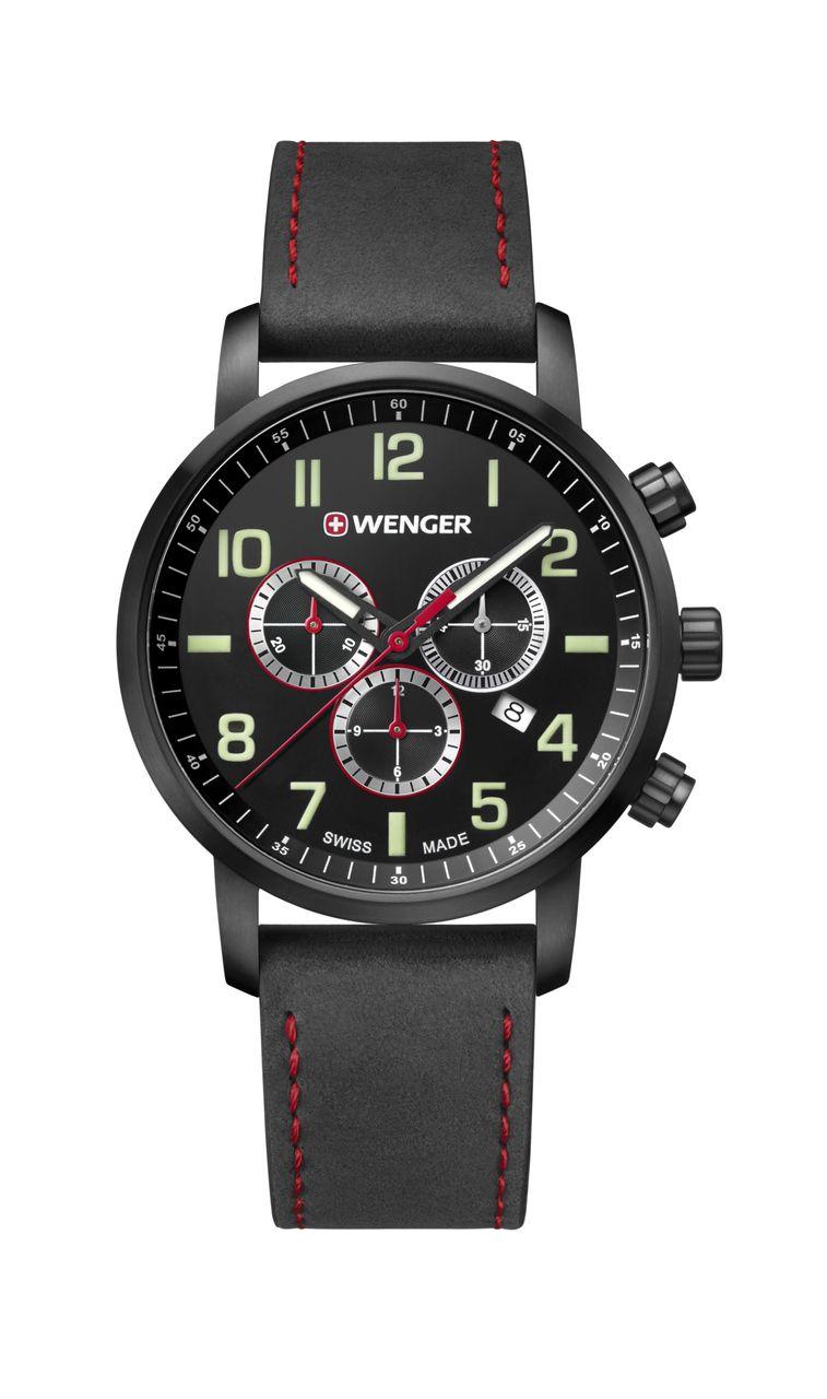 Relógio Wenger Attitude Chrono Preto - WENATI104