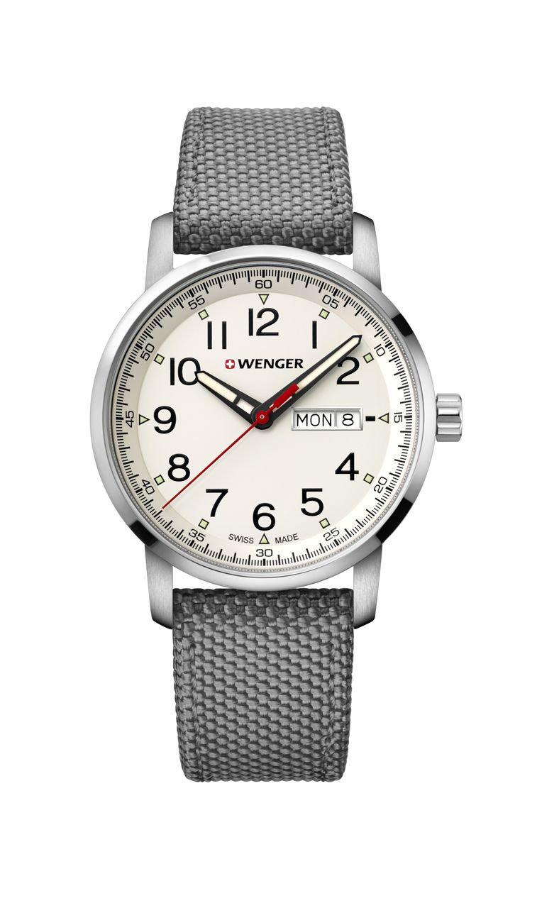 Relógio Wenger Attitude Cinza - WENATI106