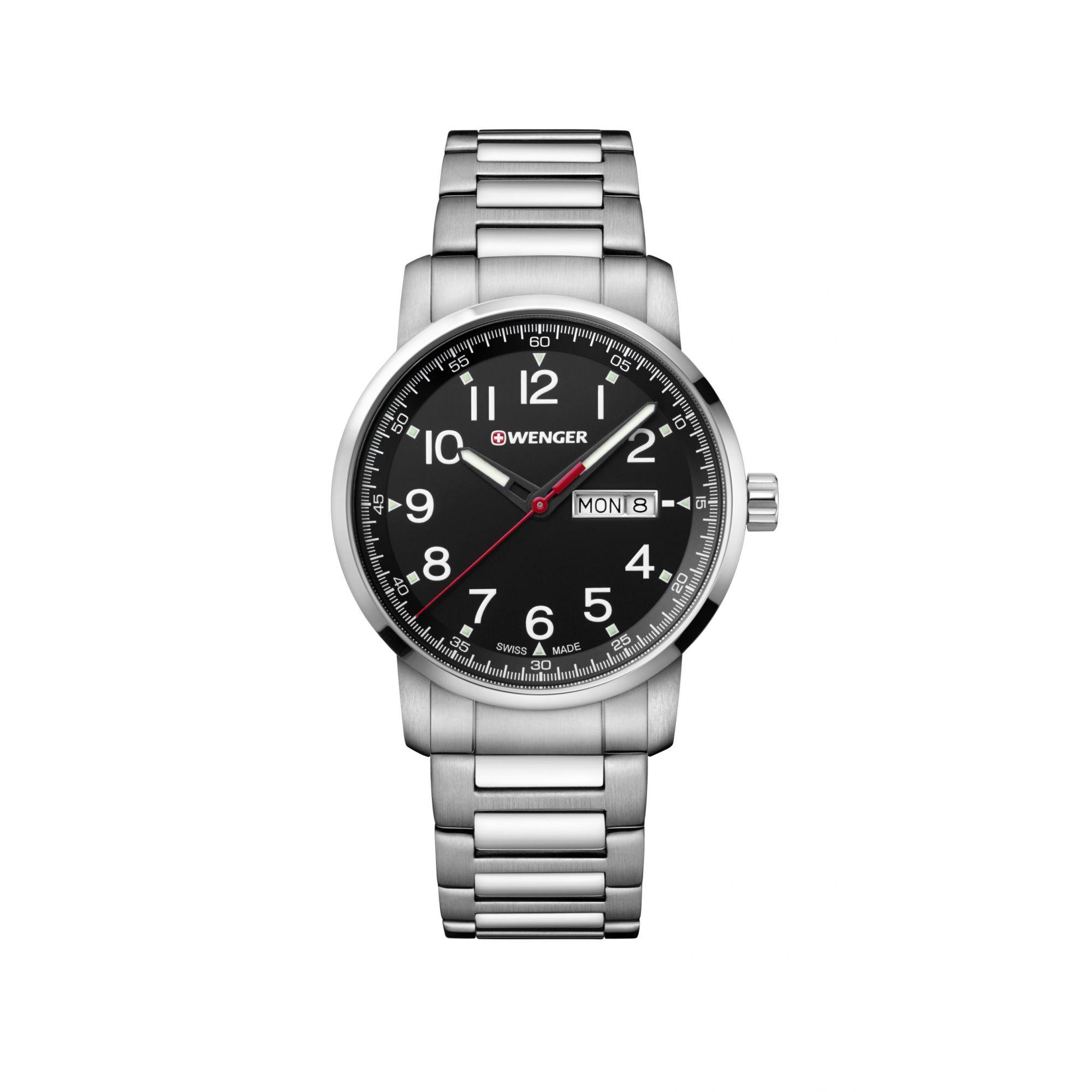 Relógio Wenger Attitude Heritage Preto - WENATI108