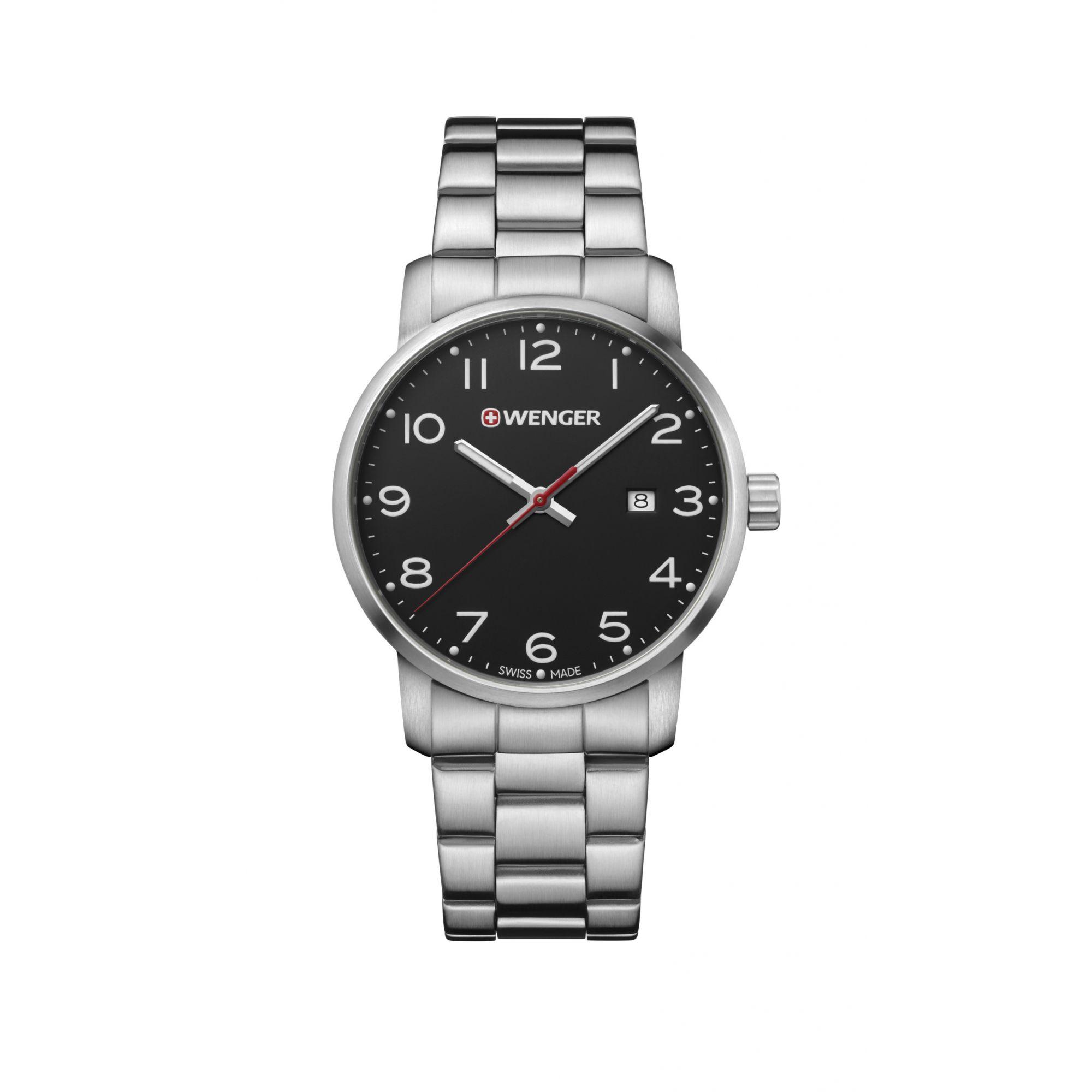 Relógio Wenger Avenue Gent Preto - WENAVE102