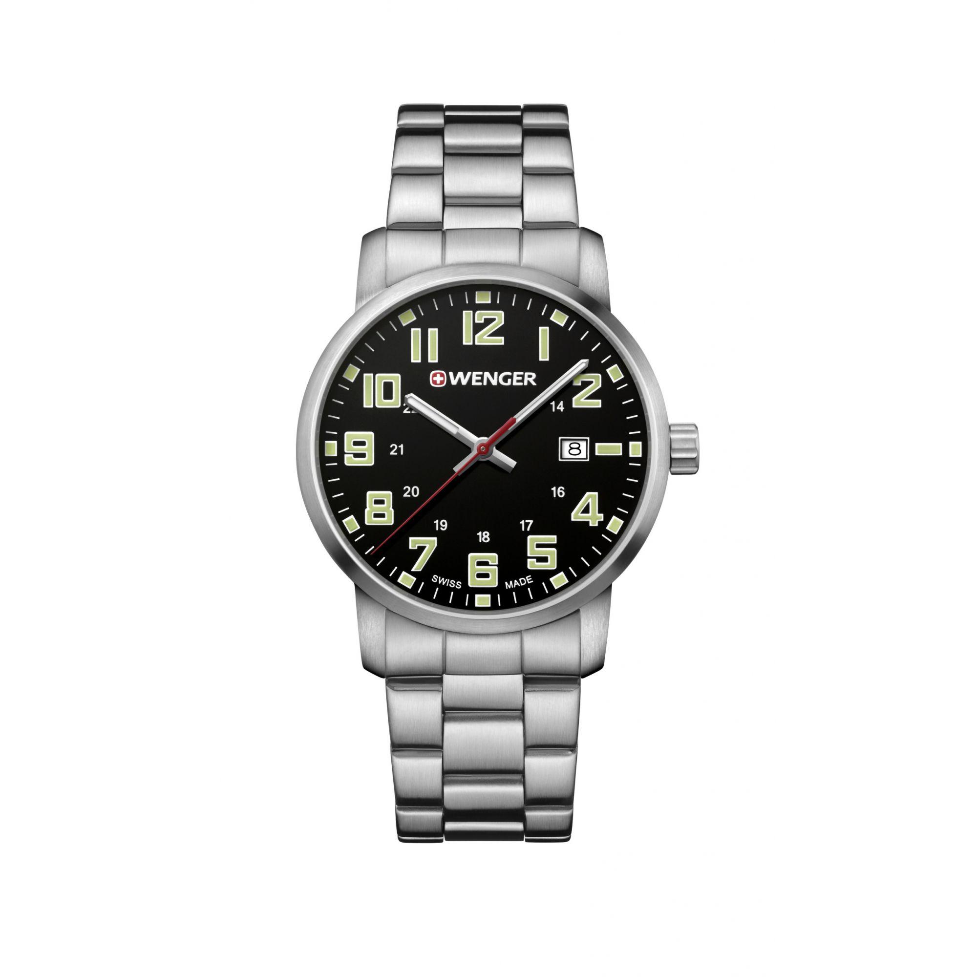 Relógio Wenger Avenue Preto - WENAVE111