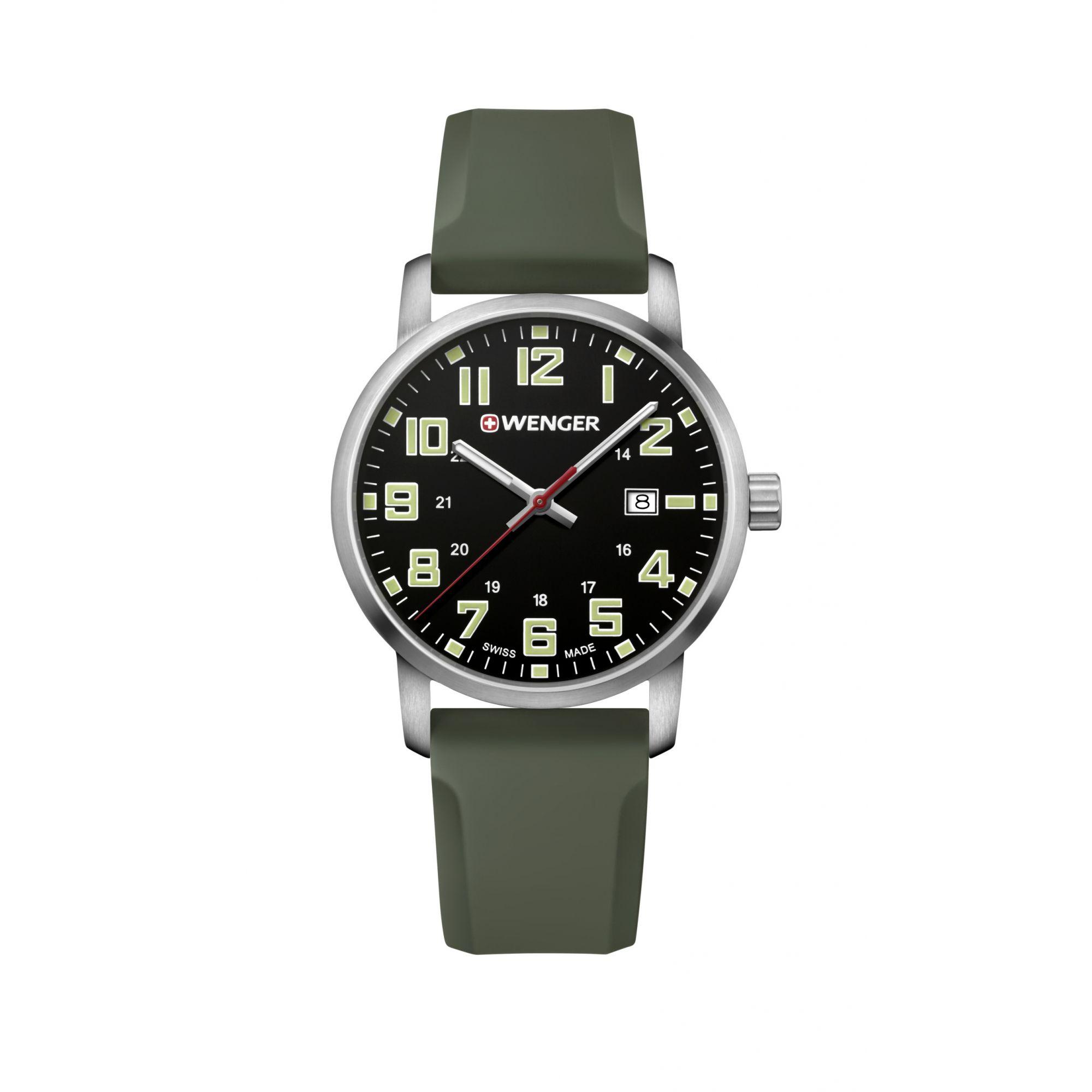 Relógio Wenger Avenue Verde - WENAVE112