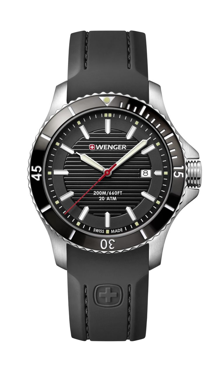 Relógio Wenger Seaforce Preto - WENSEA117