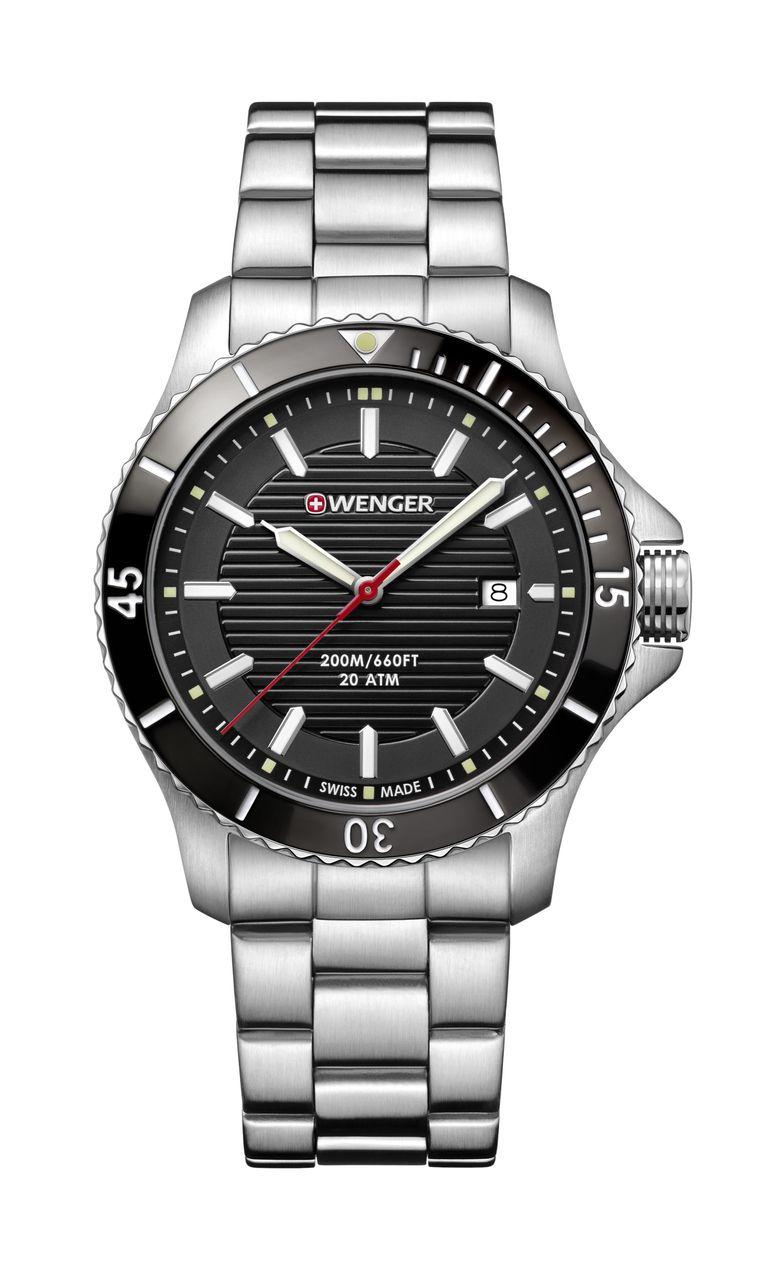 Relógio Wenger Seaforce Preto - WENSEA118