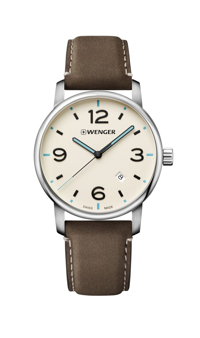 Relógio Wenger Urban Metropolitan Marrom - WENURB118