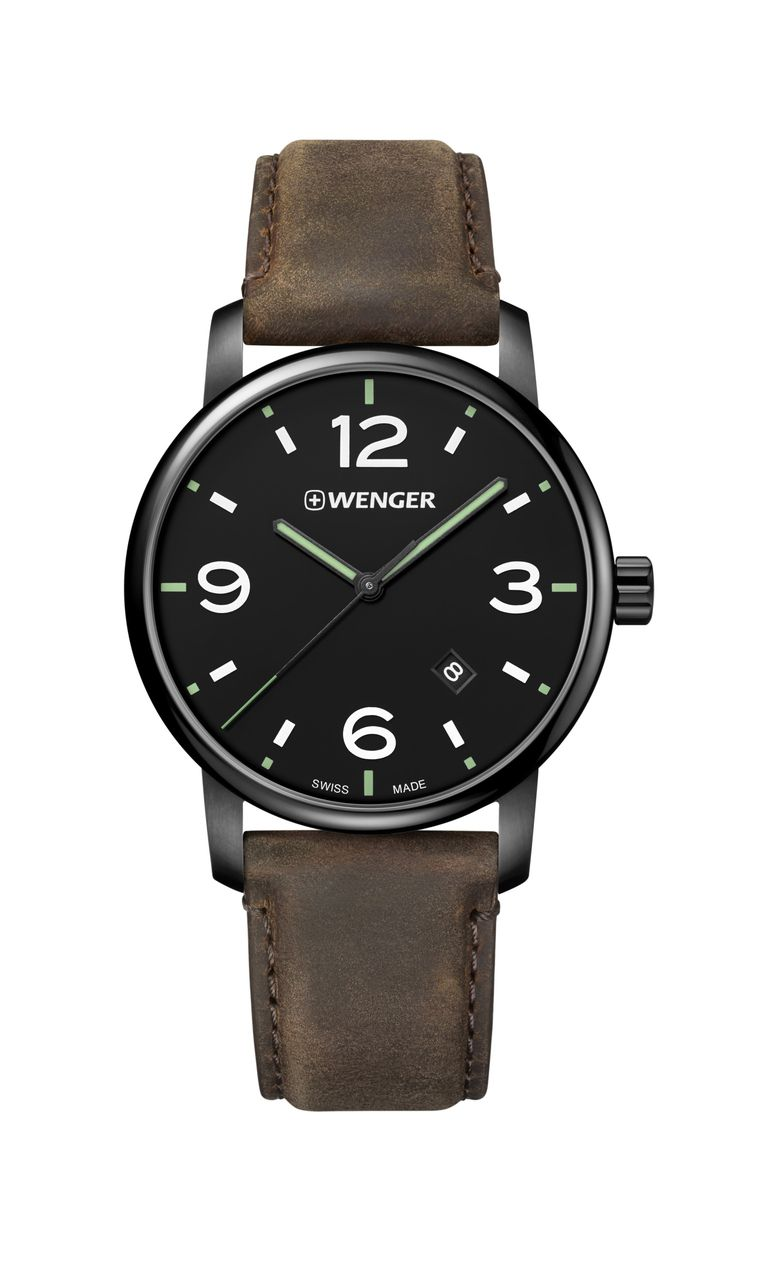 Relógio Wenger Urban Metropolitan Marrom