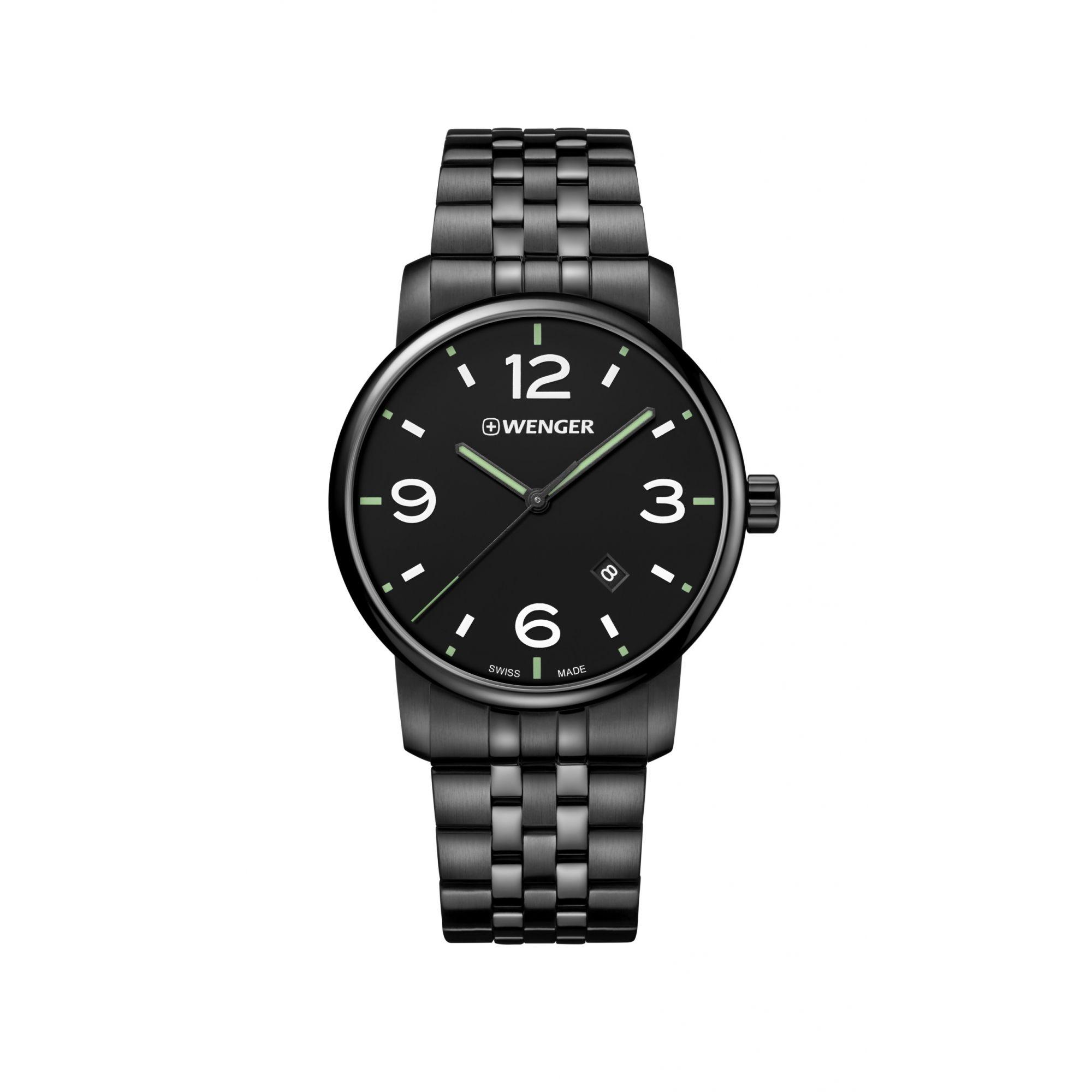 Relógio Wenger Urban Metropolitan Preto - WENURB119