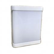 ARANDELA ROMA PLAST.EXT.LED RELUZ PT 6000K 20W 9616