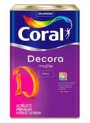DECORA FOSCO CORAL 18L BR.NEVE 5239241