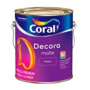 DECORA FOSCO CORAL 3,6L BR.NEVE 5239242