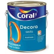 DECORA SEDA ACETINADO CORAL 3,6L BR.GELO 5229667